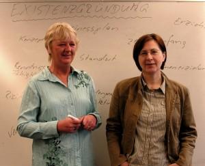 Irina Brandt und Christiane Schumacher